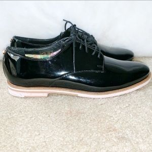 NEW! TED Baker Black Patent Shoes Size 7